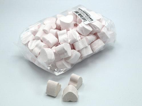1 kg bag of mini bath bomb hearts 'Moon Dreams'