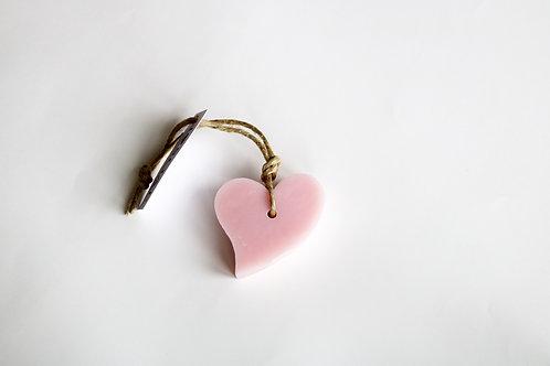 'I Love Soap' Ibiza 5 x Heart soaps 'Croatian Blossom'