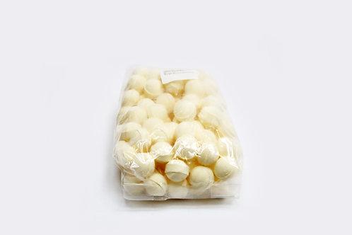 1 kg bag of mini bath bombs 'Toffee Apple'