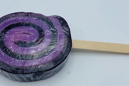 6 x Soap Lollipops Passion Fruit (purple)