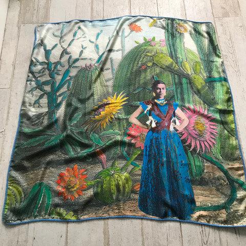 Pure silk scarf by Diana Kenyon