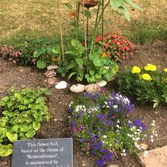 Garden at Cradley Church