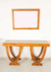Teak Modern Design Console Table.jpg