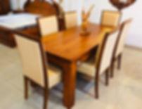 6 Seater Modern Teak Dining Table.jpg