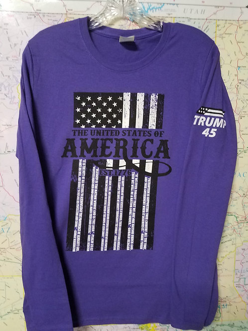 Women's United States of America Long Sleeve