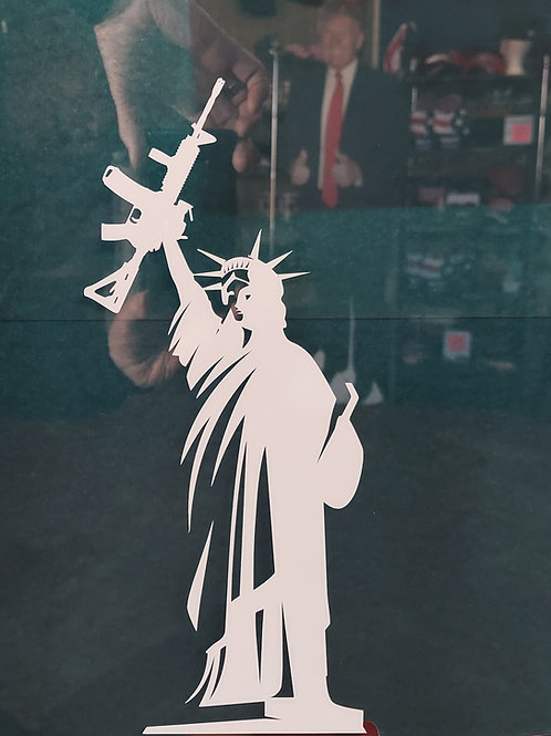 Statue of Liberty Vinyl Sticker