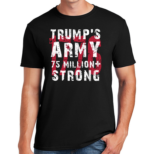 Trumps Army 75 + Million Strong