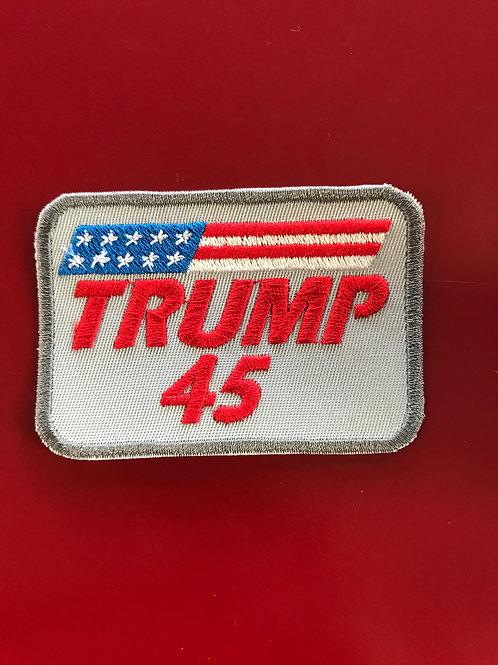 Trump 45 Patch