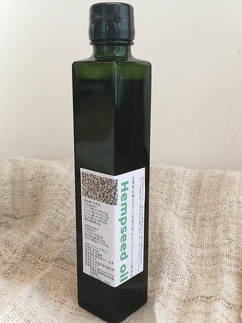 未精製ヘンプシードリッチオイル