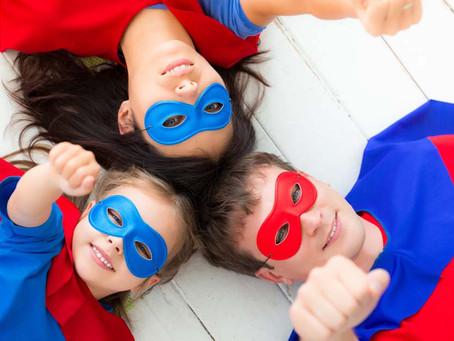 Socialize like a Superhero