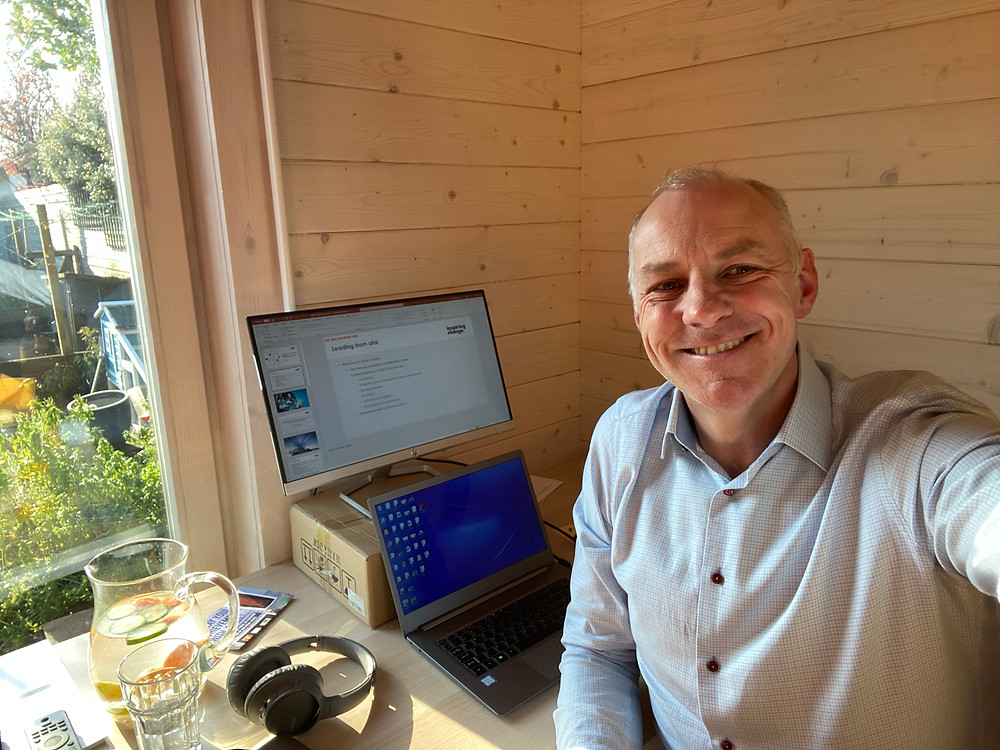 Scott McInnes CEO of Inspiring Change Consultancy At the Office