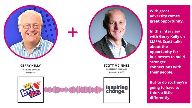 MEDIA - Scott McInnes on LMFM with Gerry Kelly