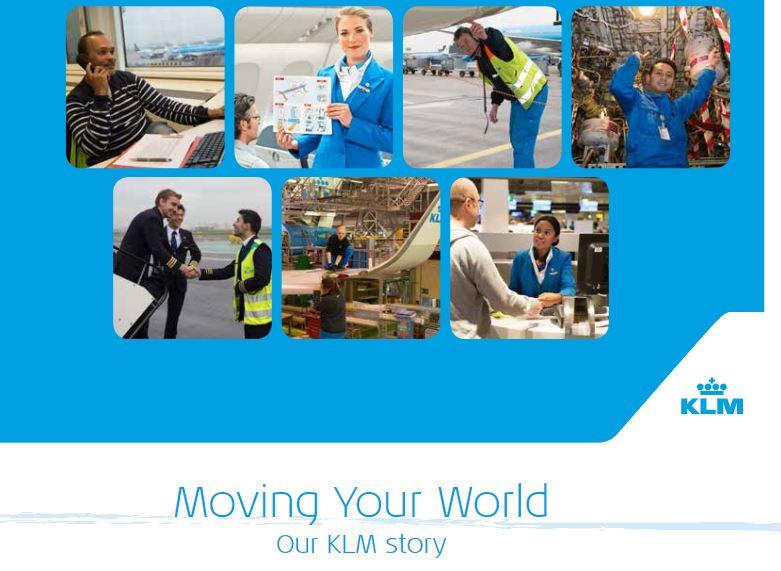 KLM Royal Dutch Airlines Advertisement