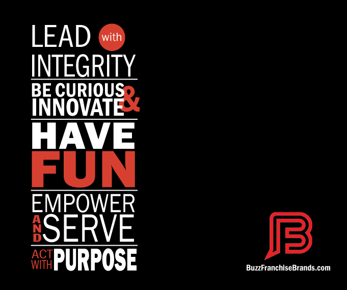 company values mission graphic