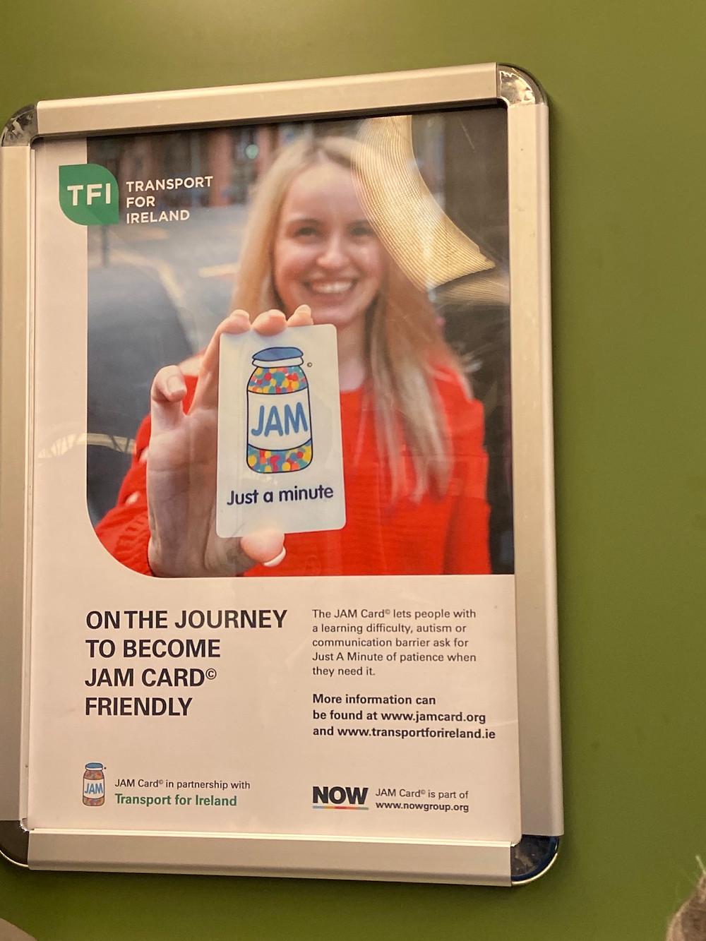 Transport For Ireland JAM advertisement