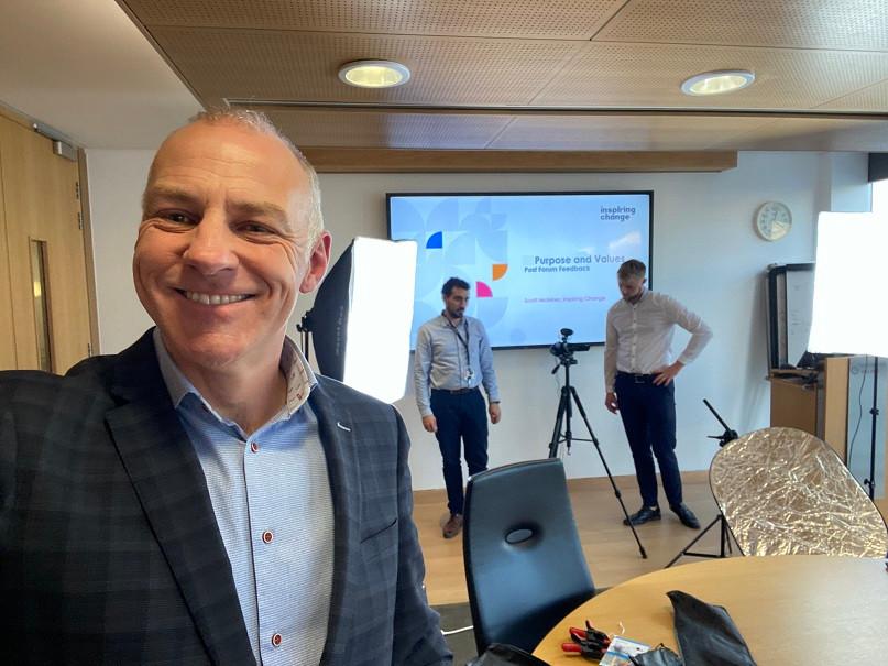 Scott McInnes CEO of Inspiring Change Consultancy