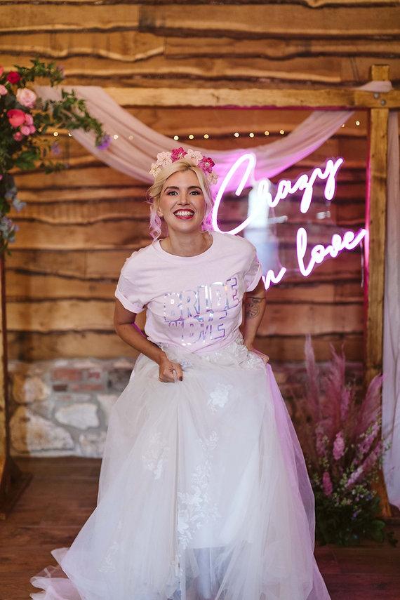 Bride or Die Tee at The Electric Bride