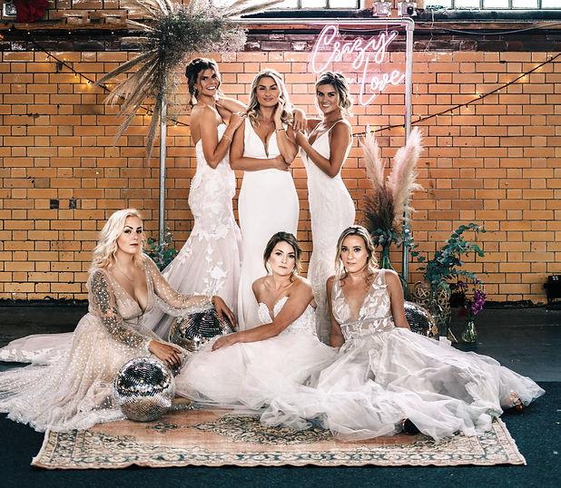 Kelham Island Sheffield Photoshoot of Brides At Electric Bride Crowle Scunthorpe