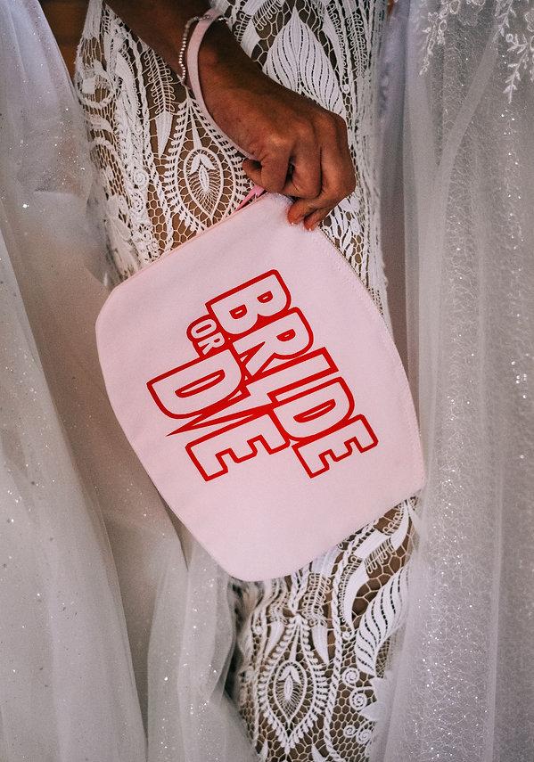 Bride or Die Clutch Bag at The Electric Bride