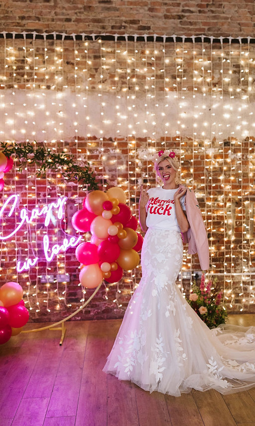 Married as Fuck Tee at The Electric Bride