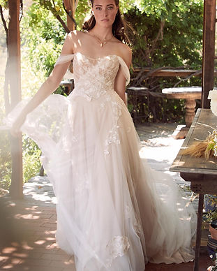Maudie Wedding Dress From Willowby by Watters at  Electric Bride
