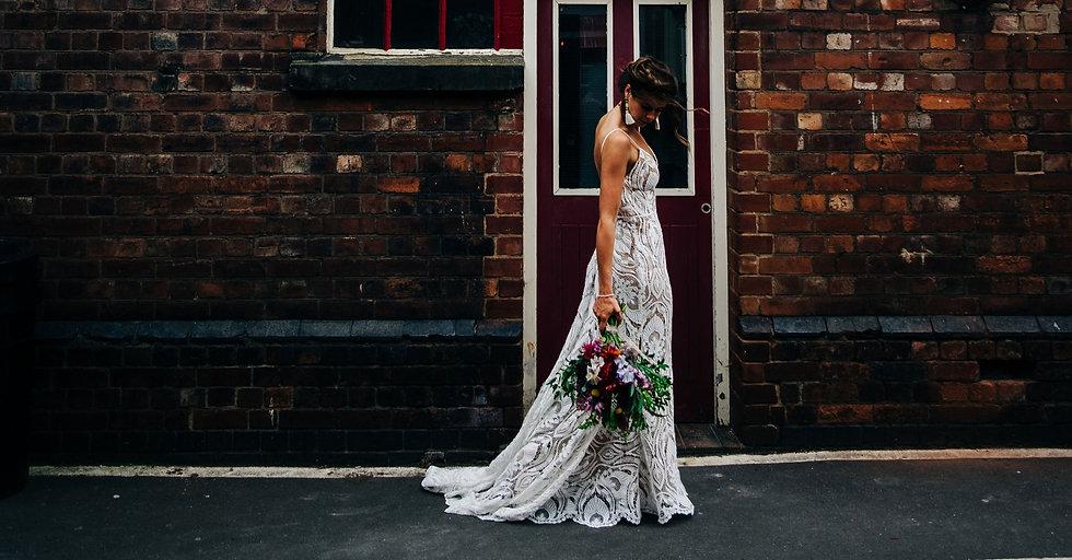 Kelham Island Sheffield Bridal Photoshoot for Electric Bride Crowle Scunthorpe