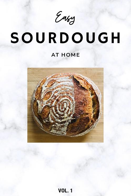 Easy Sourdough at home E-Book