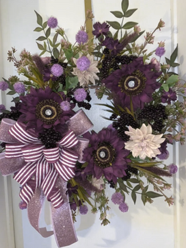 Toni's Made Wreath Love