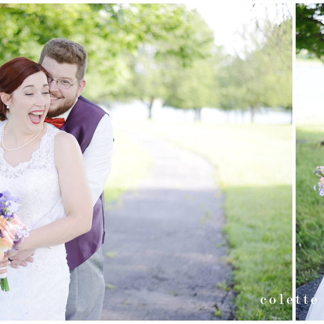 kansas city airport marriott wedding | lisa + aaron