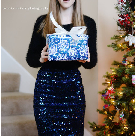 colette's closet | holiday parties