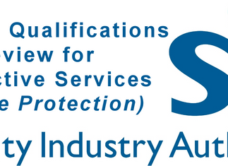 Skills and qualifications review for Protective Services (Close Protection)