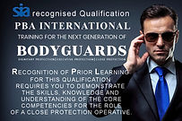 BTEC Level 3 for Close Protection (RPL)