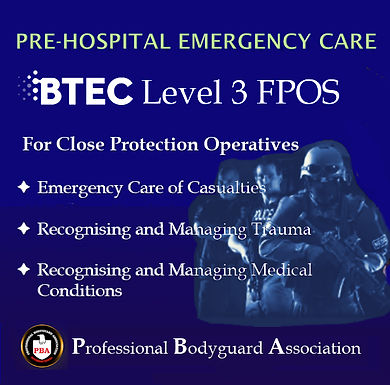 Course Objectives of the BTEC FPOS qualifications, Level 3 or Level 4.