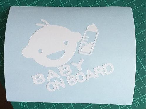 Baby on Board (Head/Bottle)