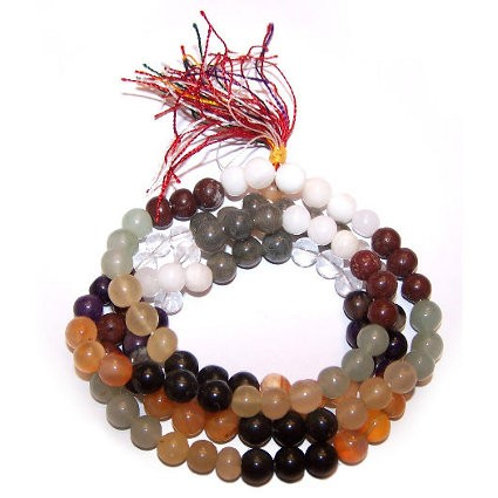 9 Planet Astro Mala Beads