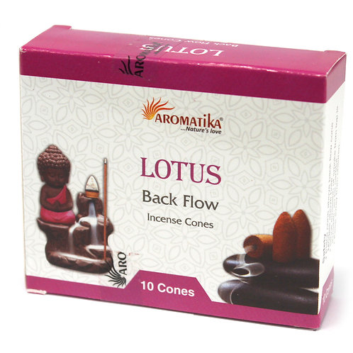 Aromatika Backflow Incense Cones.