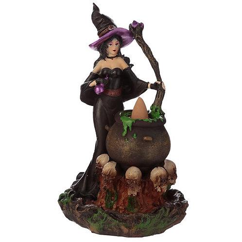 Witches Cauldron Backflow Incense Burner