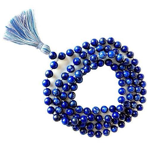 Lapis Mala Beads