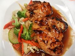 Glazed Lemongrass Chicken