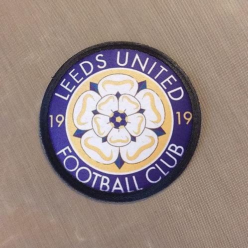 Leeds United Sew on Badge 70mm