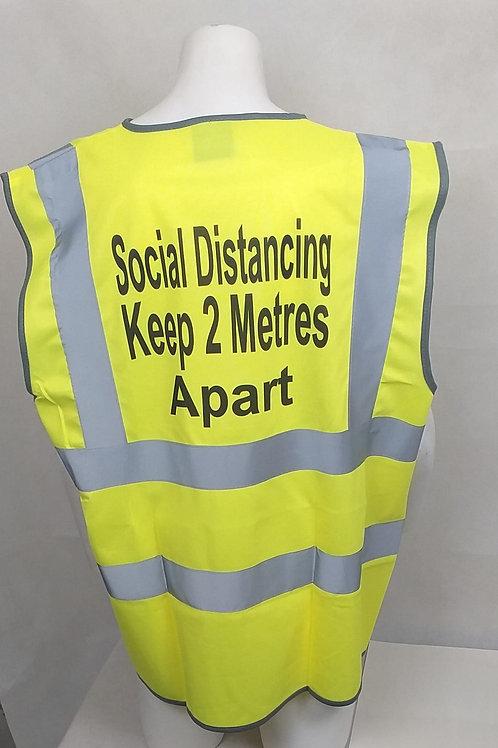 Social Distancing Hi Viz