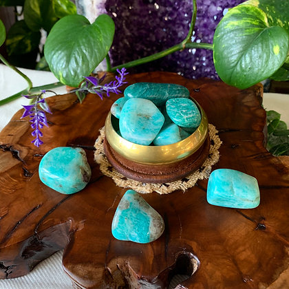 Amazonite Tumbled Stones (Large)