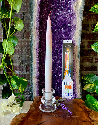 Multicolor Drip Candles