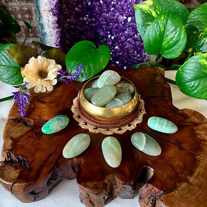 Garnierite Tumbled Stones