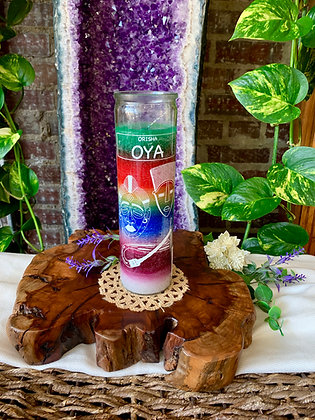 Orisha Oya Seven Day Candle (7 Colors)