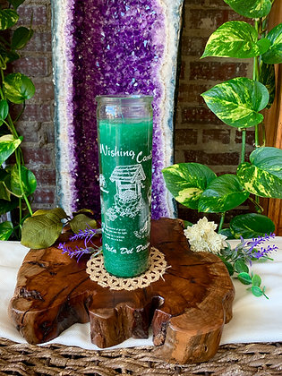 Wishing Seven Day Spell Candle (Green)