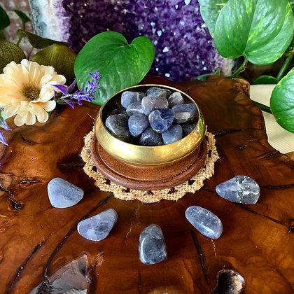 Iolite Tumbled Stones