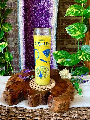 Orisha Oshun Seven Day Candle (Yellow)