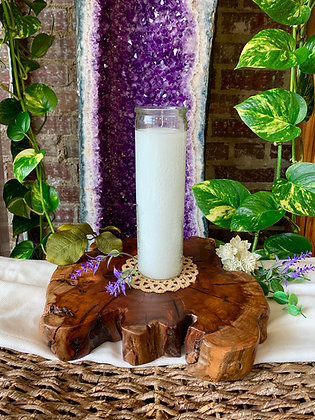 White Seven Day Candle