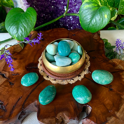 Amazonite Tumbled Stones (Small)